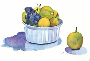 Pears & Grapes