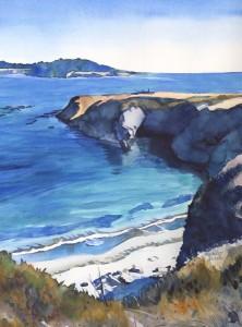 Sunny Mendocino Headlands