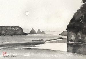 545.Peace at Jug Handle Beach