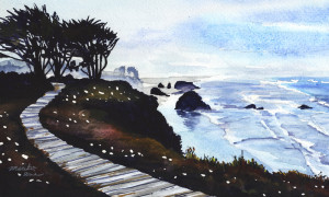 810. Wooden Trail on the Cliff_blog