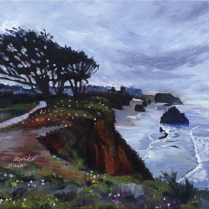 832. Trees on a Cliff_blog